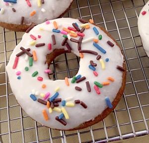 Gluten Free Pumpkin Donut